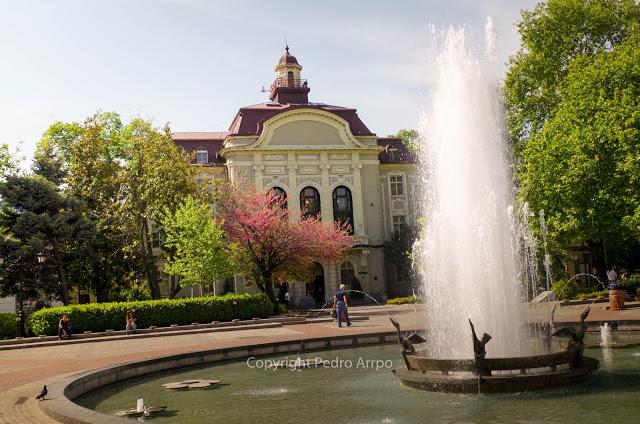 Bulgaria. Ayuntamiento de Plovdiv