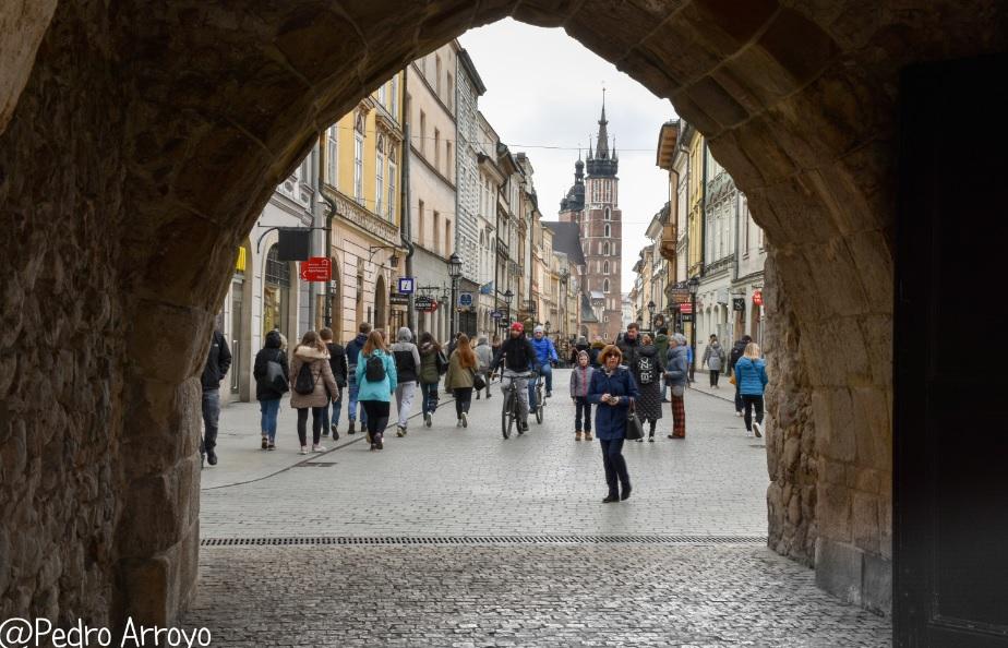 Puerta de San Florian. Cracovia