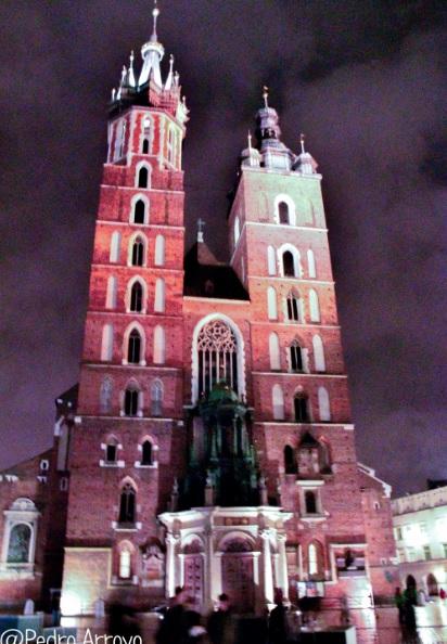 Iglesia de Santa María. Cracovia