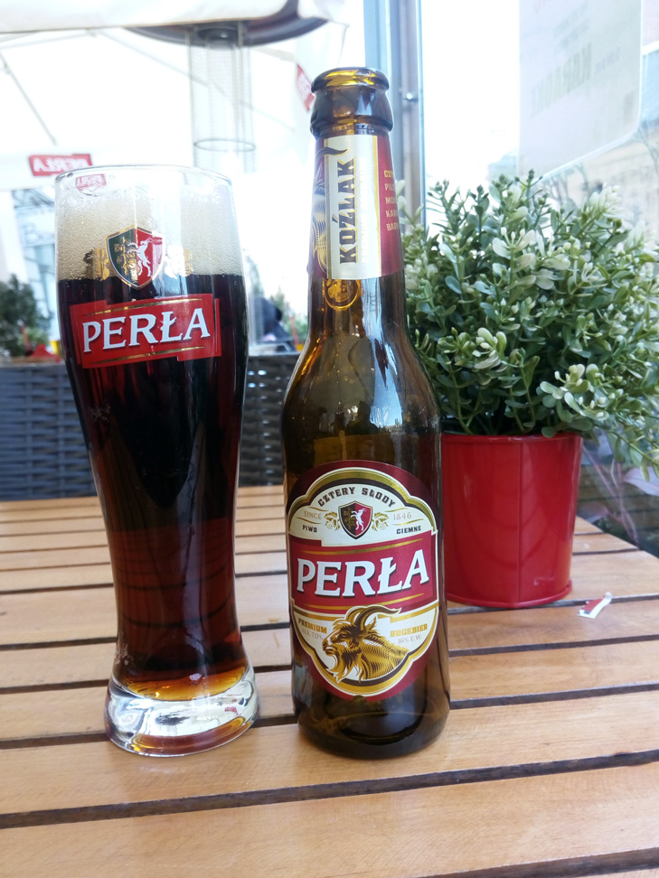 Una cerveza: Perla